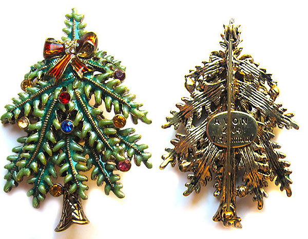 Item 40: Avon Christmas Tree Pin